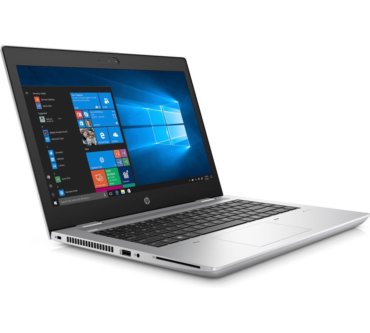 "HP ProBook 640 G4 - 14"" - Core i5 7200U - 8 GB RAM - 256 GB SSD - US - 3XJ75UT#ABA - Notebook Computers - CDW.com"