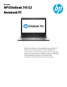 HP EliteBook 745 G2 Notebook PC
