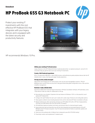 AMS HP ProBook 655 G3 Datasheet