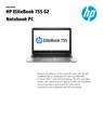 HP EliteBook 755 G2 Notebook PC