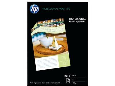 HP Professional Inkjet Matte Paper-100 sht/A4/210 x 297 mm