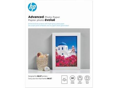 HP Advanced Glossy Photo Paper-60 sht/5 x 7 in
