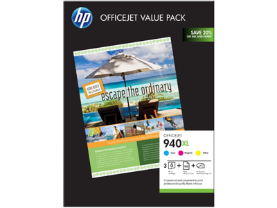 HP 940XL Officejet Brochure Value Pack-100 sht/210 x 297 mm
