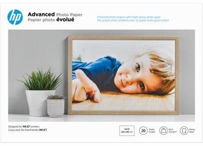 HP Advanced Glossy Photo Paper-20 sht/A3+/330 x 483 mm (13 x 19 in)