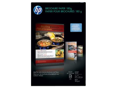 HP Inkjet Glossy Brochure Paper 180 gsm-150 sht/Tabloid/11 x 17 in