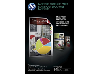 HP PageWide Glossy Brochure Paper-200 sht/Tabloid/11 x 17 in