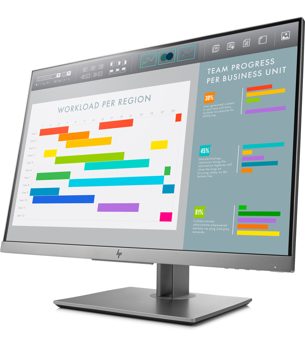 Download free pdf for hp l2445w monitor manual.