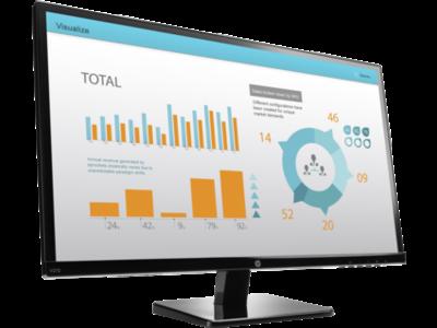 HP V272 27-inch Monitor (ENERGY STAR)