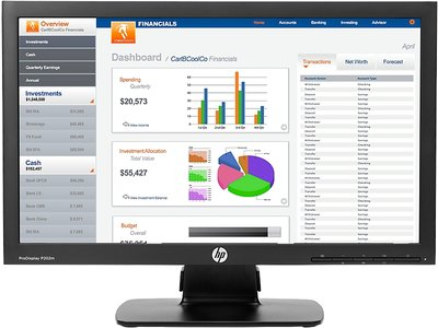 HP ProDisplay P202m 20-inch Monitor