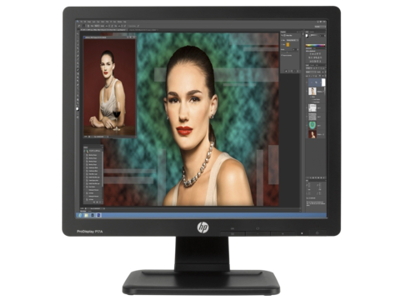 HP ProDisplay P17A 43,18 cm (17') 5:4 LED Backlit Monitor (ENERGY STAR)