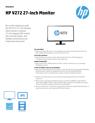 HP V272 27-inch Monitor(English(AMS))