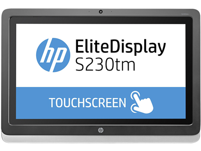 HP EliteDisplay S230tm 23-inch Touch Monitor