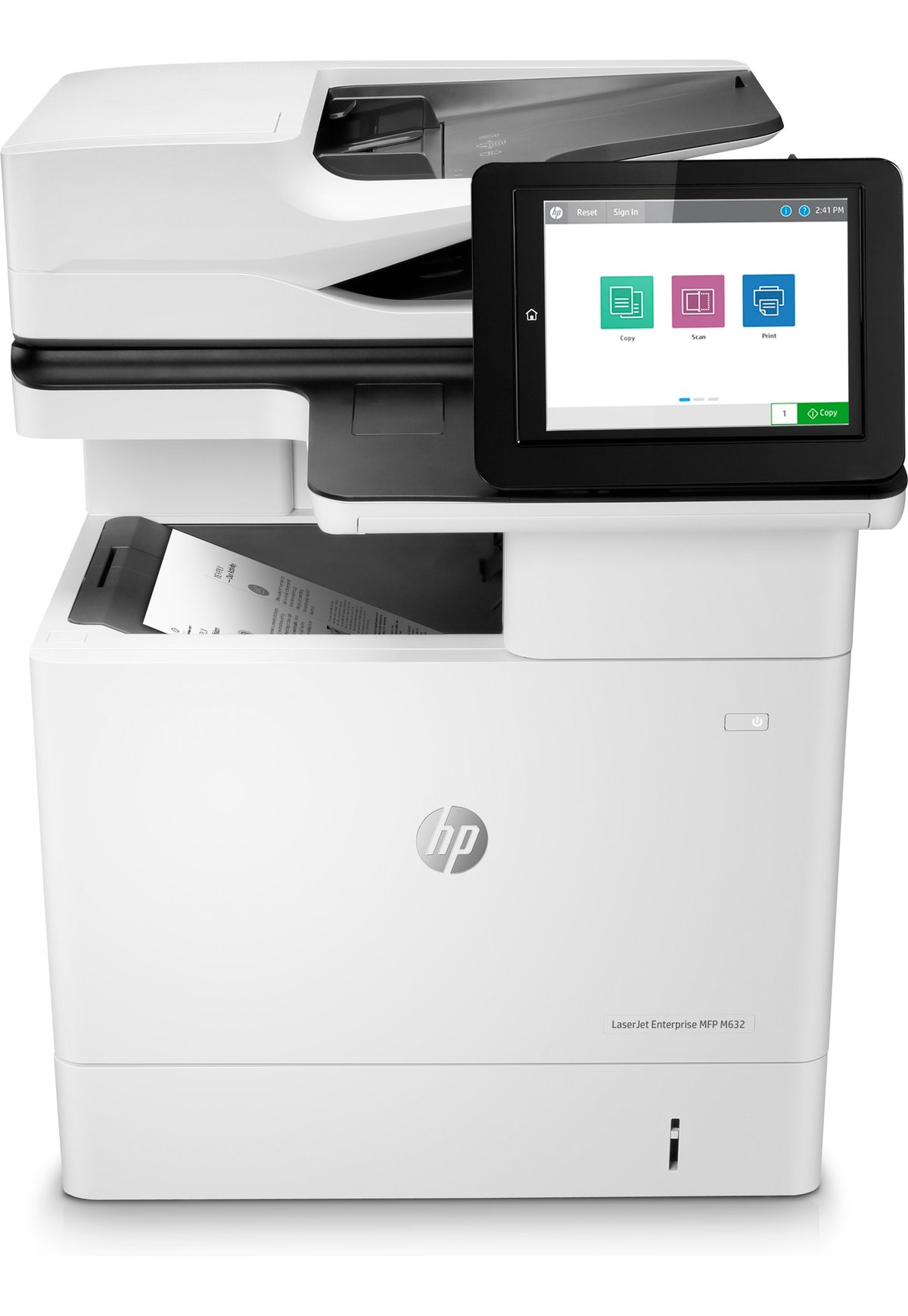 slide 1 of 3 show larger image hp laserjet enterprise mfp m632h