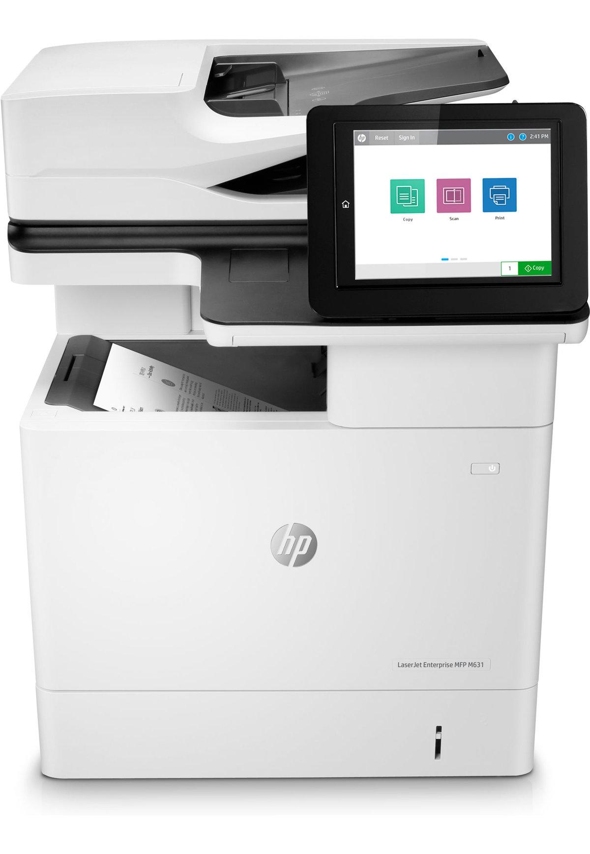 HP LaserJet Enterprise MFP M631dn imprimante multifonctions Noir