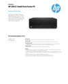 HP 290 G1 Small Form Factor PC