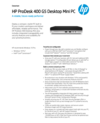 HP ProDesk 400 G5 Desktop Mini PC