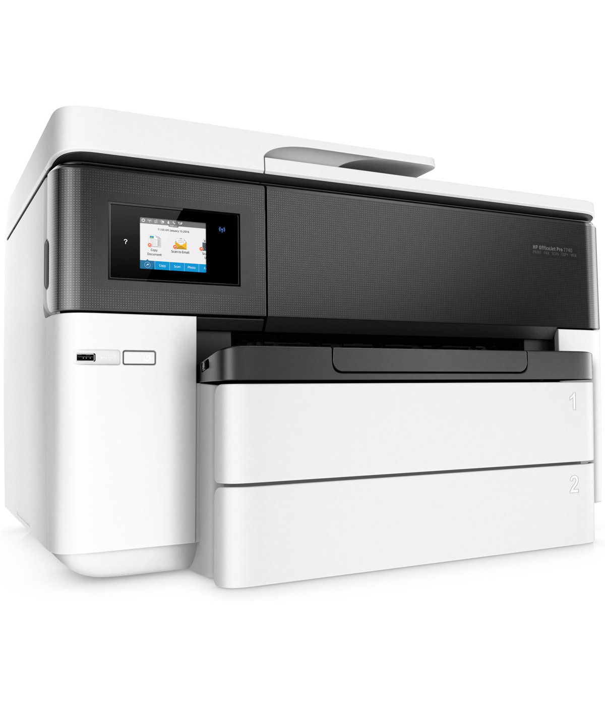 HP ficeJet 7740 Pro Wide Format All in e Printer with Wireless Mobile Printing G5J38A by fice Depot & ficeMax