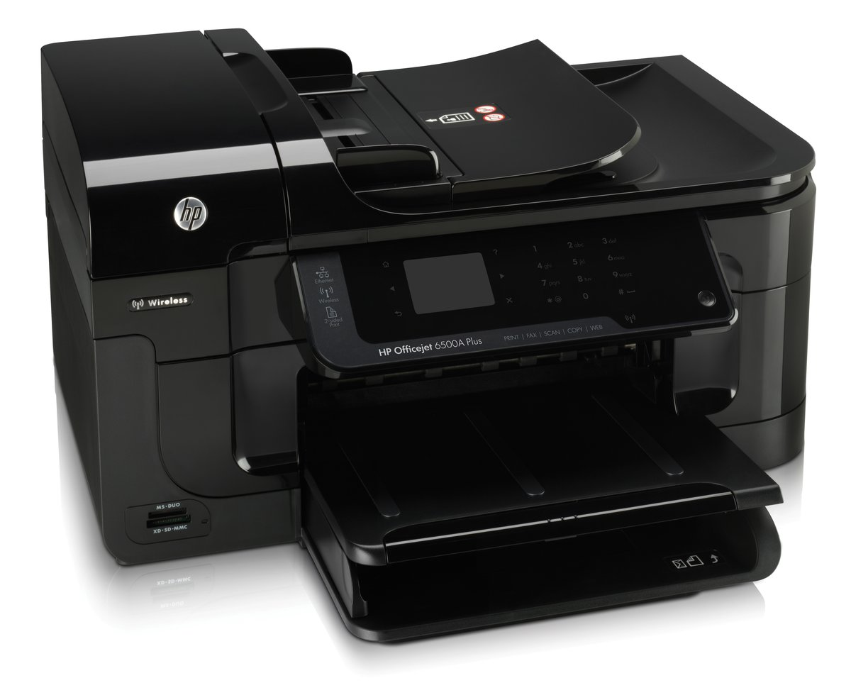 HP Officejet 6500A Plus ePrint All In One Printer Copier Scanner Fax by  Office Depot & OfficeMax