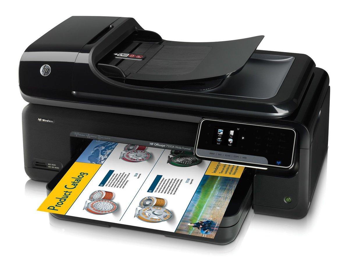 hp officejet 7500a wide format eprint all in one printer copier rh officedepot com hp officejet 7500a wide format user manual hp officejet 7500a instruction manual