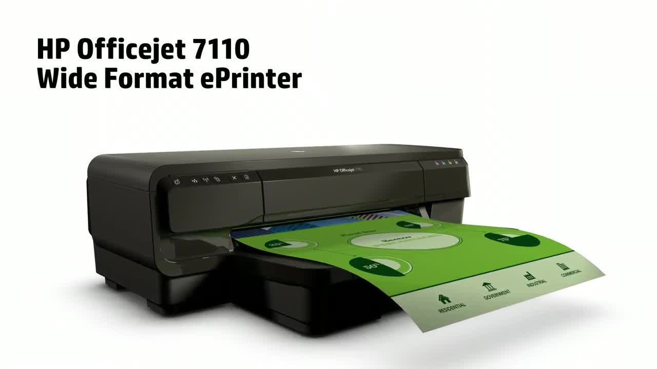 HP OfficeJet 7110 Driver Software