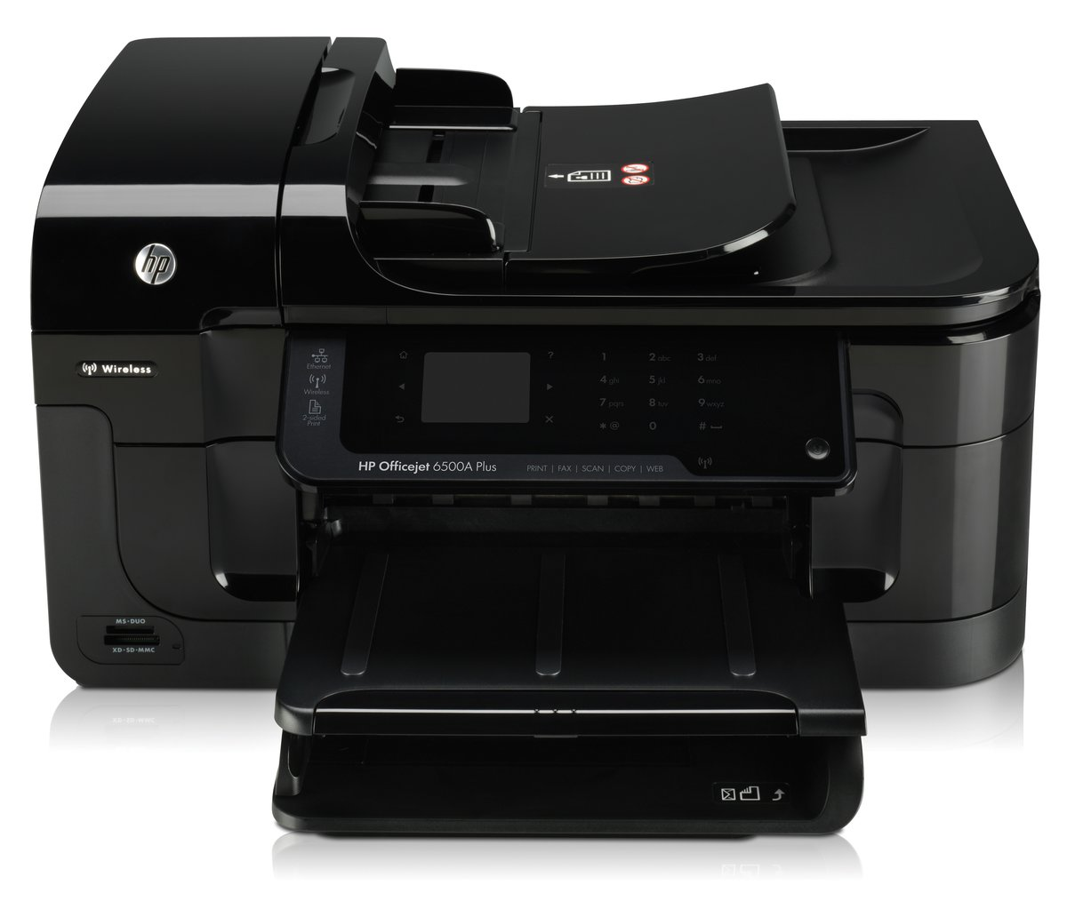 hp officejet 6500a plus eprint all in one printer copier scanner fax rh officedepot com hp officejet 6500a plus service manual hp officejet 6500a plus notice