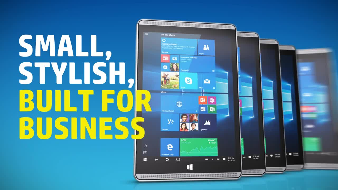 HP Pro Tablet 608 G1 - 7 86%22 - Atom x5 Z8500 - 4 GB RAM - 64 GB SSD