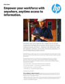 HP Mobile Manual Tablet Solution