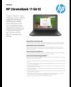 AMS NB - HP Chromebook 11 G6 EE Datasheet EN 08-2019