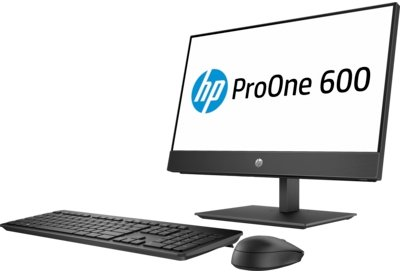 Product   HP ProOne 600 G4 - all-in-one - Core i3 8100 3 6