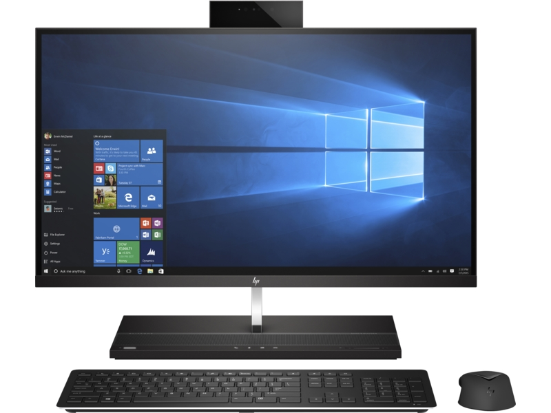 HP EliteOne 1000 G1 - all-in-one - Core i5 7500 3 4 GHz - 8 GB - 256 GB -  LED 27%22 - US