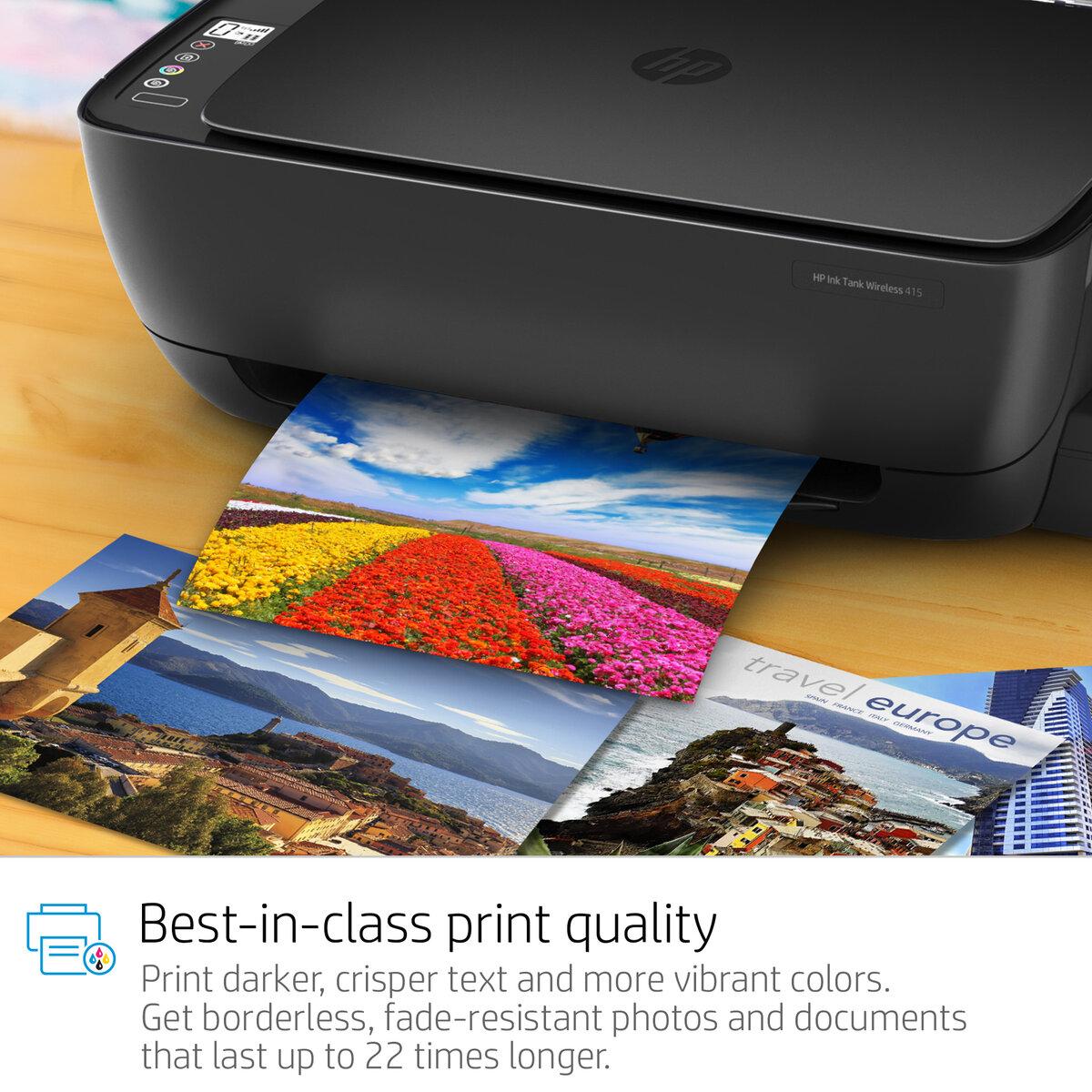 Hp Ink Tank Wireless 415 All In One Printer Xcite Kuwait Tinta Gt 51 Black Original
