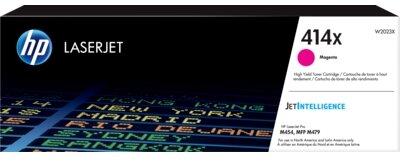 HP 414X High Yield Magenta Original LaserJet Toner Cartridge
