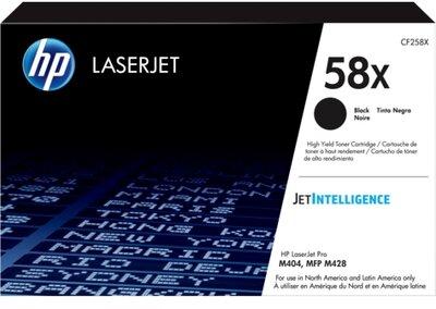 HP 58X High Yield Black Original LaserJet Toner Cartridge