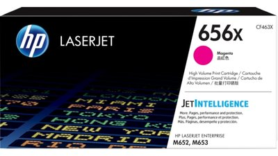 HP 656X High Yield Magenta Original LaserJet Toner Cartridge