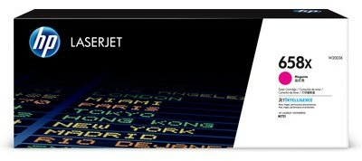 HP 658X High Yield Magenta Original LaserJet Toner Cartridge