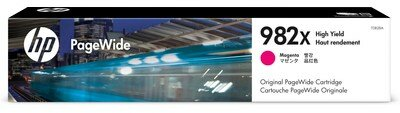 HP 982X High Yield Magenta Original PageWide Cartridge