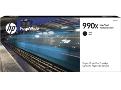 HP 990X High Yield Black Original PageWide Cartridge