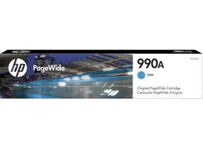 HP 990A Cyan Original PageWide Cartridge