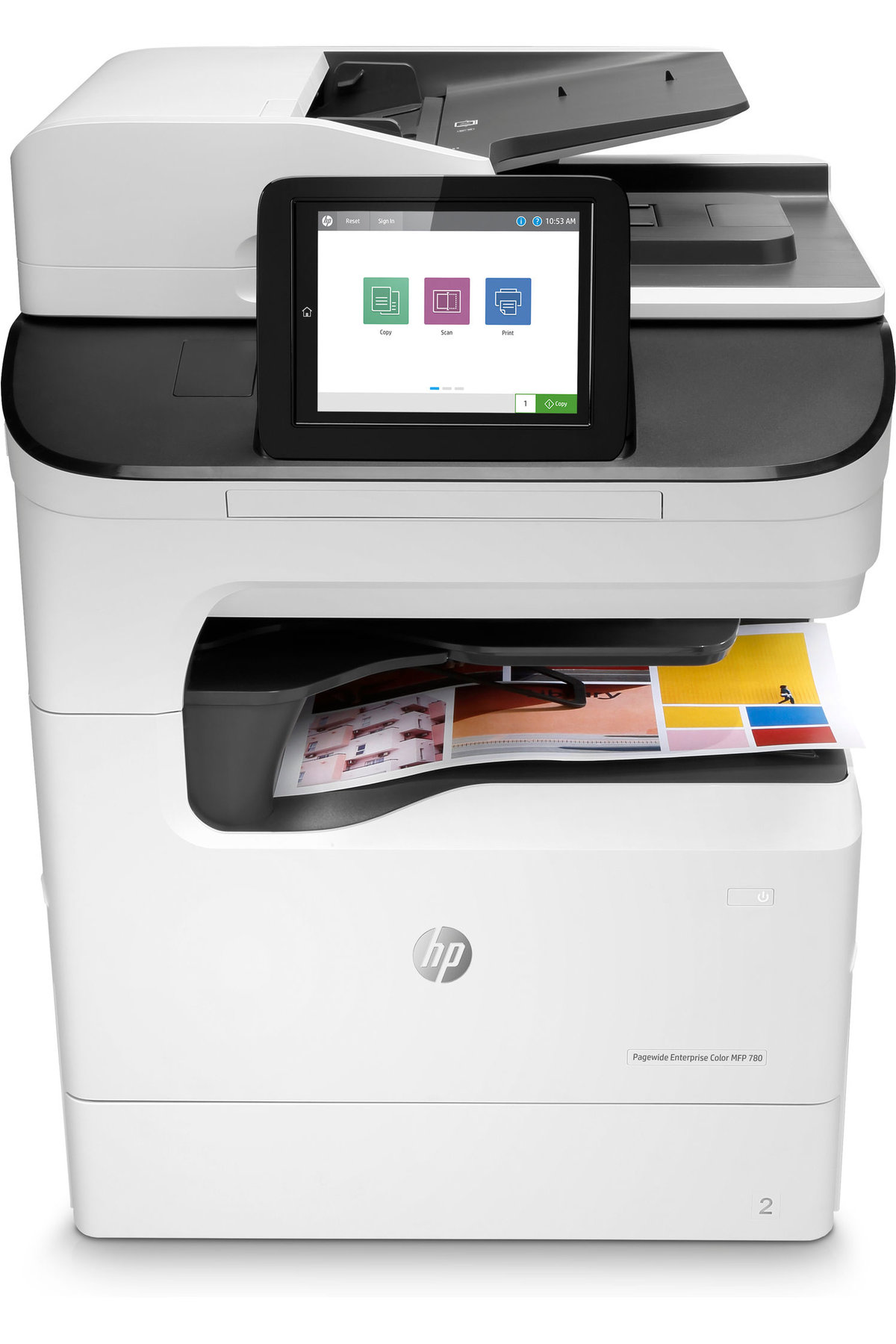 HP PageWide Enterprise Color MFP 780dns - multifunction printer - color