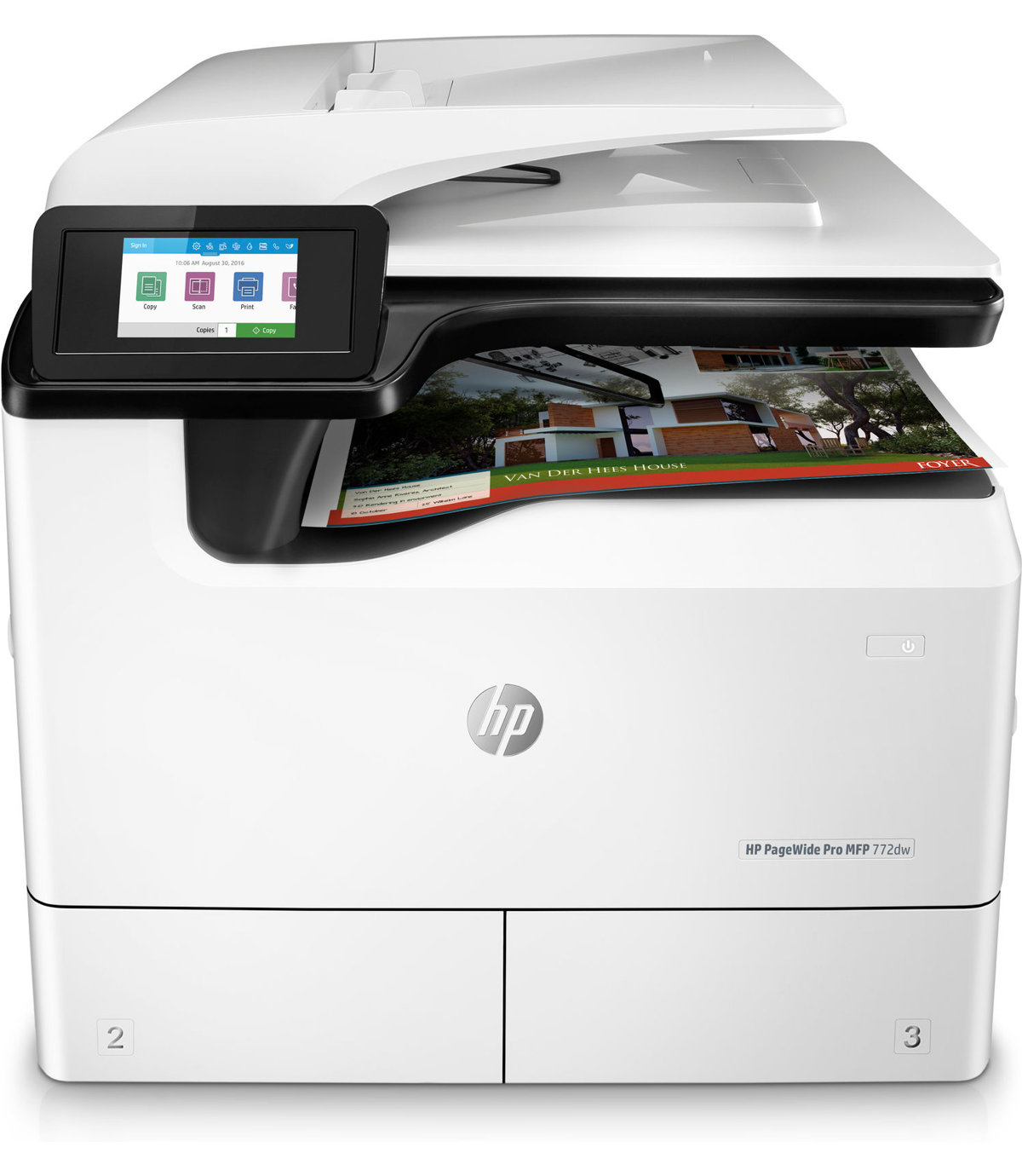 Product | HP PageWide Pro 772dw - multifunction printer (color)