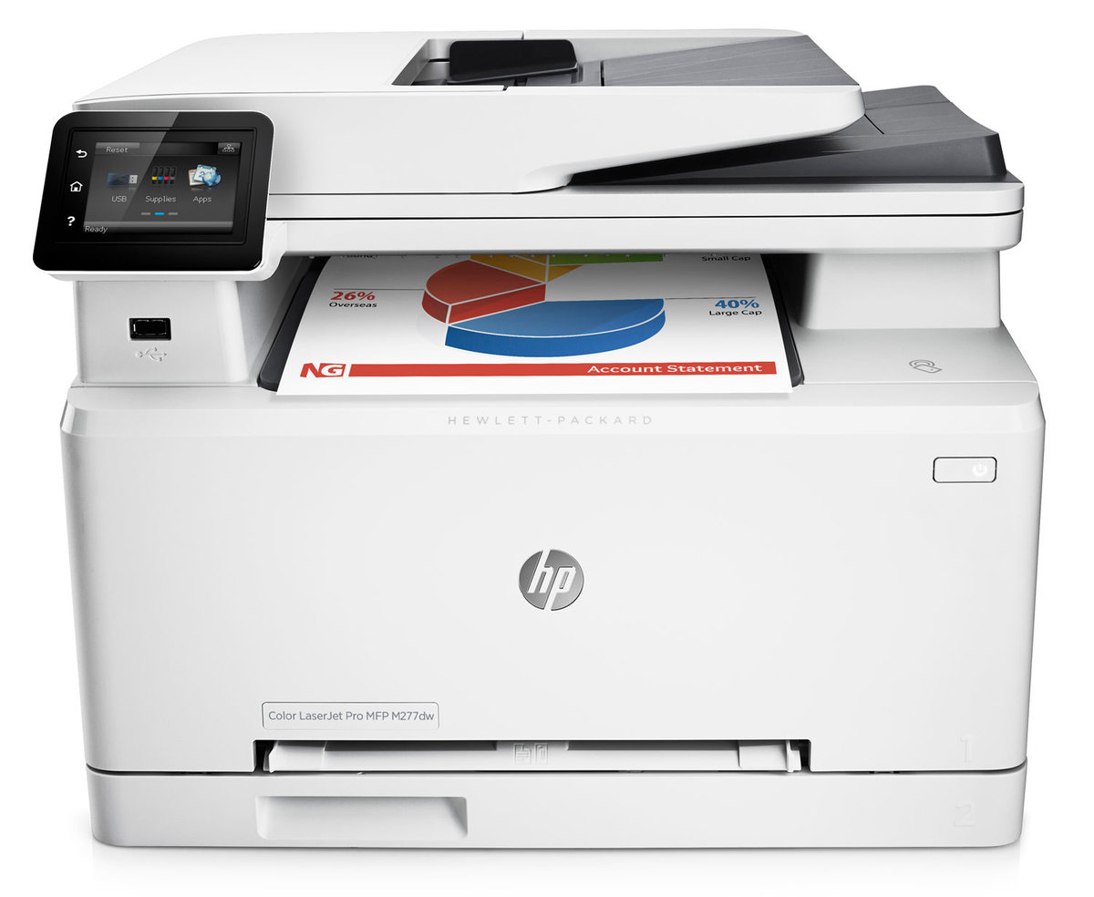 HP LaserJet Pro M277dw Wireless Color Laser Printer With JetIntelligence by  Office Depot & OfficeMax