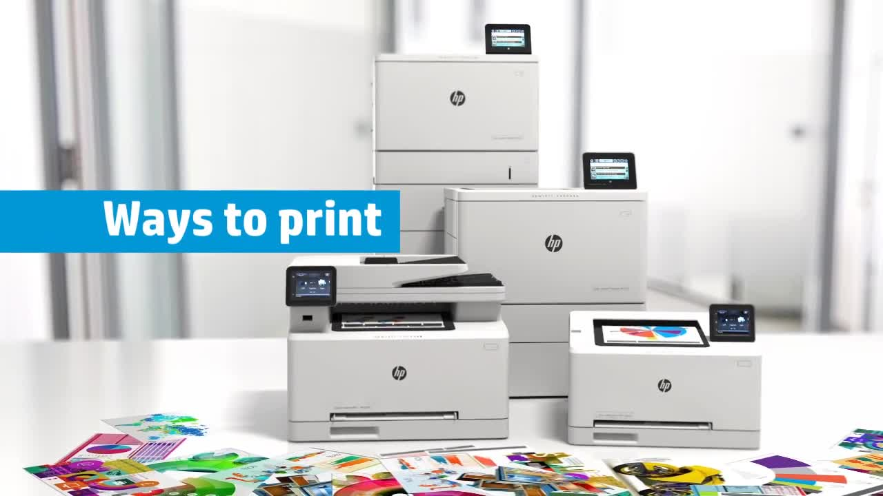 HP Color LaserJet Pro M277dw All-in-One Laser Printer | Staples