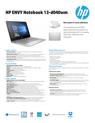 HP ENVY Notebook - 13-d040wm (ENERGY STAR)