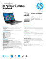 HP Pavilion 17-g053us Notebook