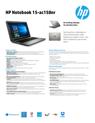 HP Notebook - 15-ac158nr (ENERGY STAR)