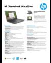 AMS HP Chromebook 14-ca020nr Datasheet