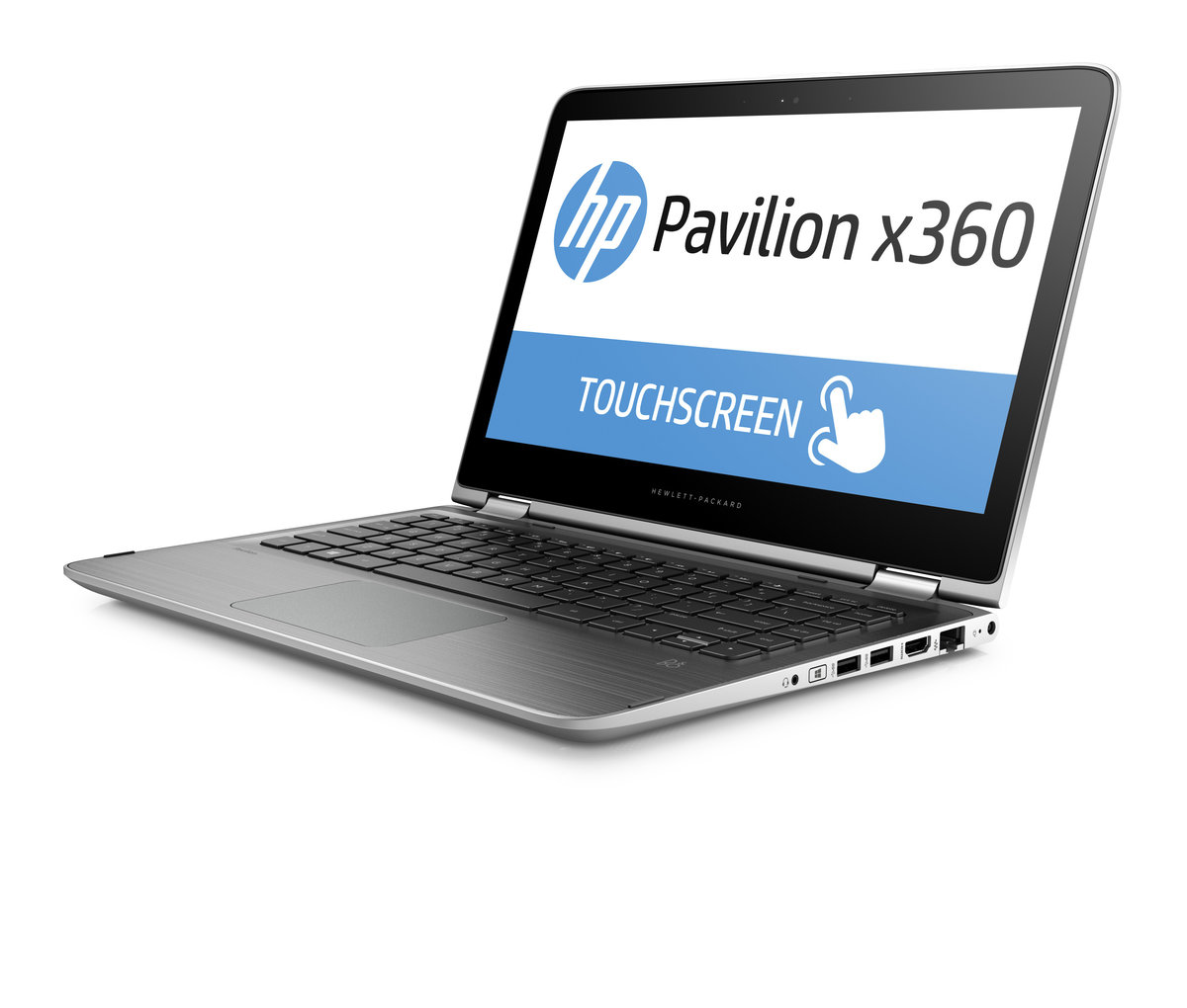 Hp Pavilion X360 13 S161nr 3 Convertible 2 In 1 Laptop Touchscreen 4 Gb Ram Windows 10 Natural Silver Staples