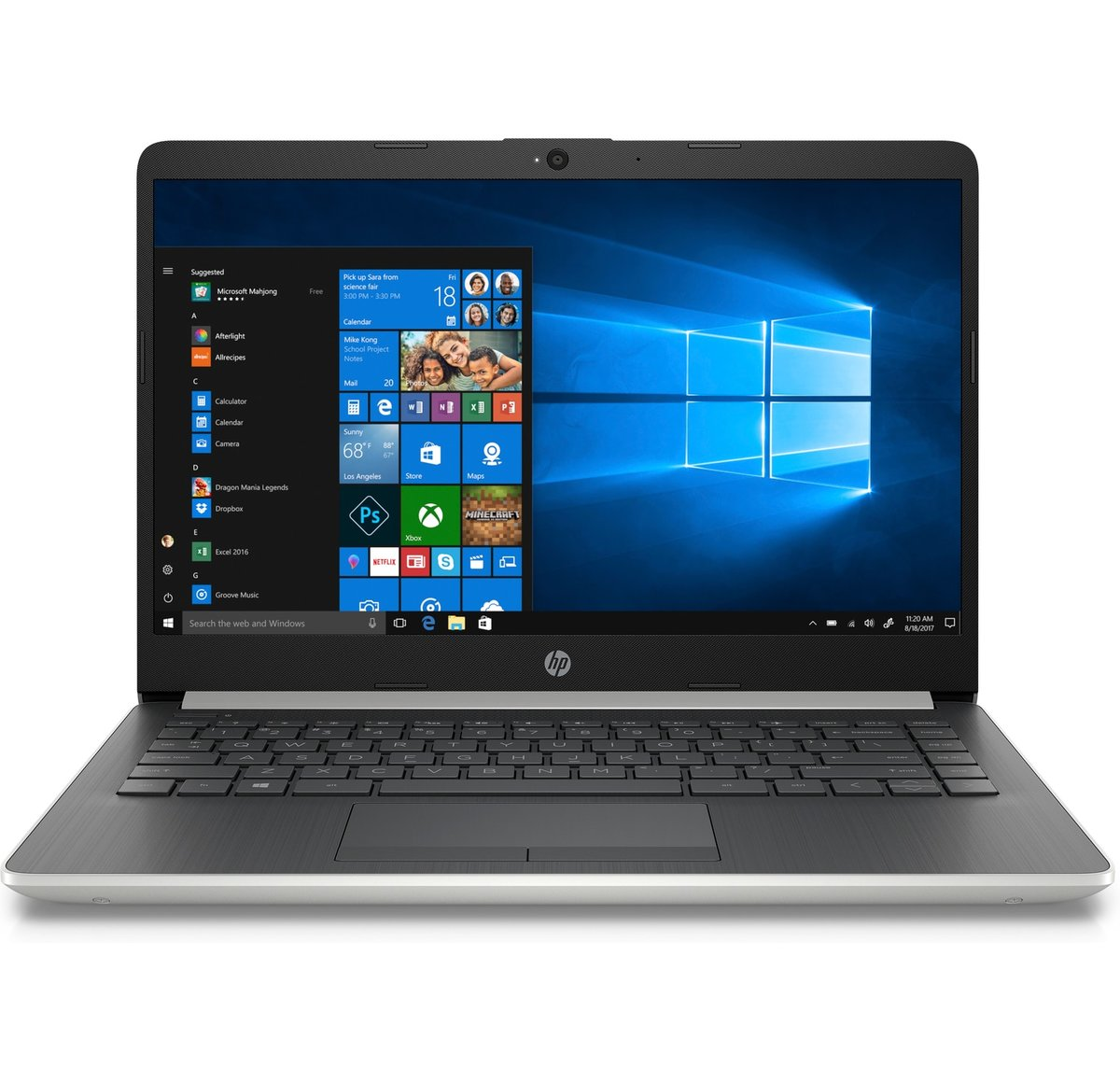 Hp 14 Cf0051od Laptop 14 Screen 8th Gen Intel Core I5 8gb Memory