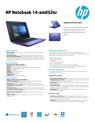 HP Notebook - 14-am052nr (ENERGY STAR)