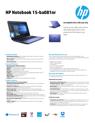 HP Notebook - 15-ba081nr (Touch) (ENERGY STAR)